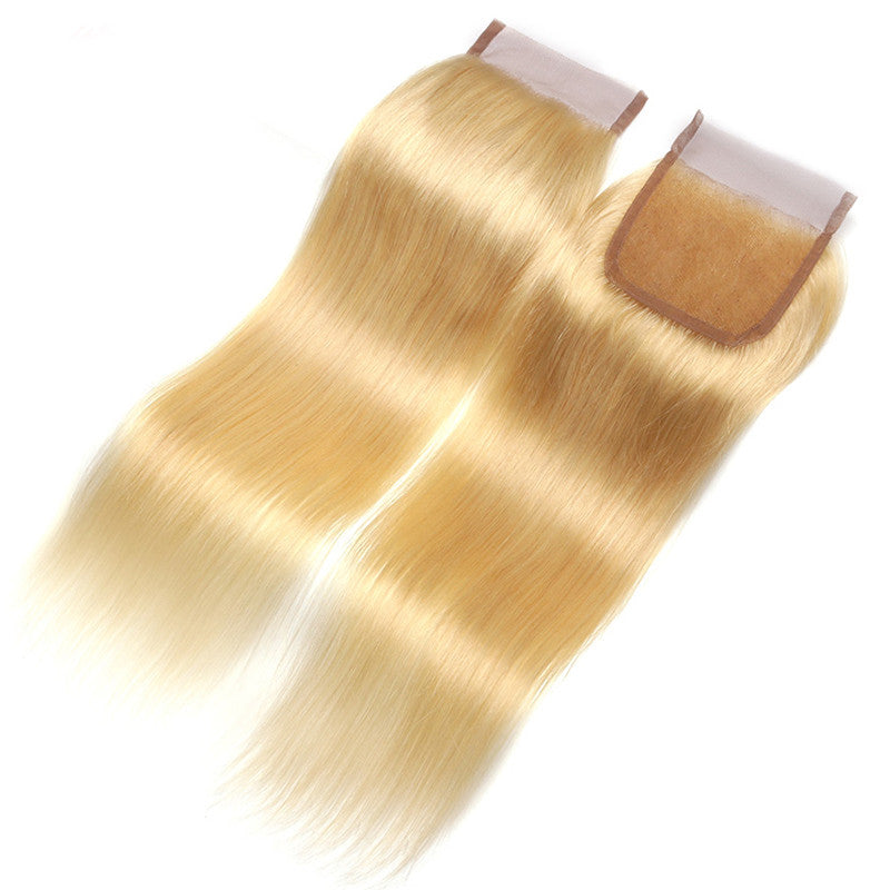 Luxury 613 Straight Closure - Free-Part - London Virgin Hair