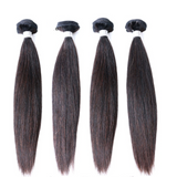 Luxury Straight Bundle Deals - Natural Colour - London Virgin Hair