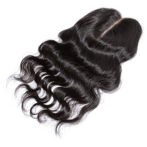 Luxury Body Wave Closure - Middle-Part - London Virgin Hair
