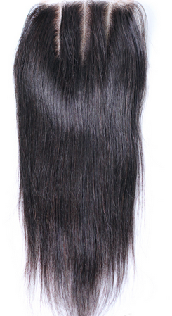 Luxury Straight Closure - Three-part - London Virgin Hair