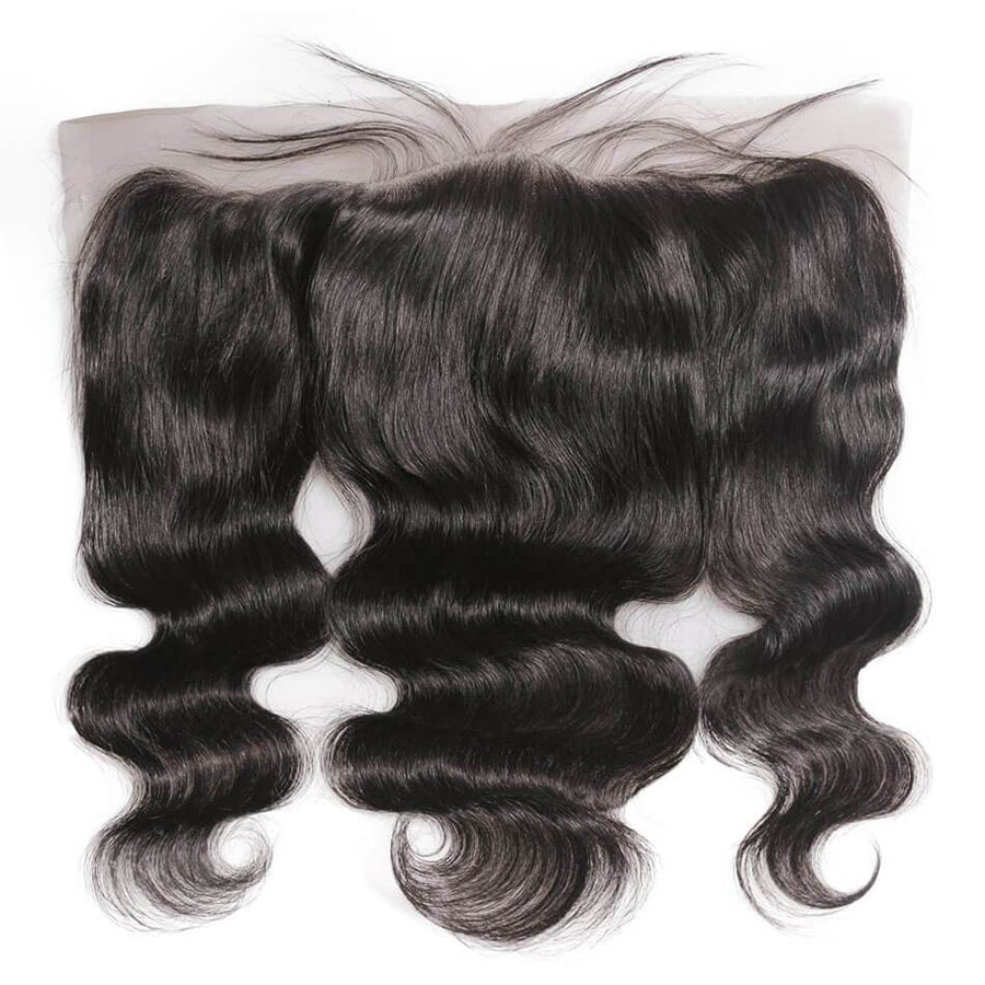 Luxury HD Swiss Lace Frontals 13x4 - Free Part - London Virgin Hair