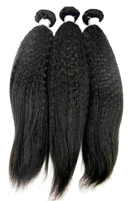 Luxury Kinky Straight Bundle Deals - Natural Colour
