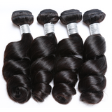 Luxury Loose Wave Bundle Deals - Natural Colour - London Virgin Hair