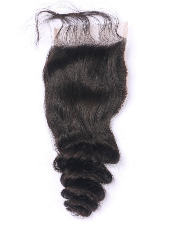 Luxury Transparent Lace Closures - Free Part - London Virgin Hair