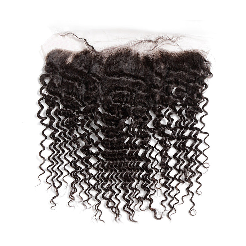 Luxury Transparent Lace Frontals 13x4 - Free Part - London Virgin Hair