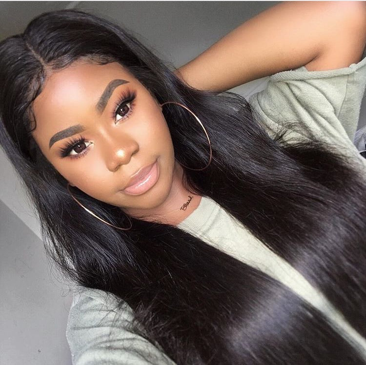 (SALE) Luxury Straight Wig - Frontal - London Virgin Hair