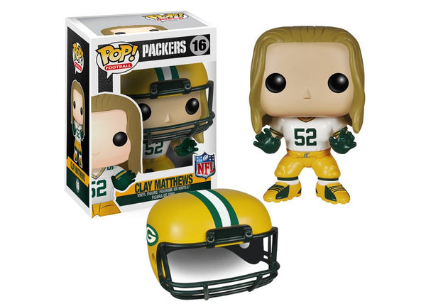 Funko Pop NFL Wave 1 - Clay Matthews Pop! Vinyl Figure