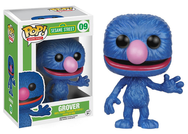 04914 - Funko Pop! Sesame Street - Grover Pop! Vinyl
