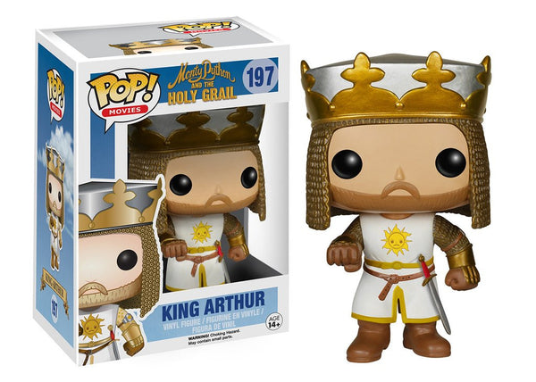 Funko Monty Python and The Holy Grail - King Arthur Pop! Vinyl Figure