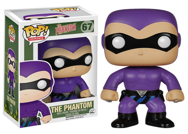 05530 - Funko Pop! Heroes The Phantom - The Phantom Pop! Vinyl