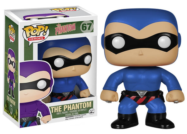 06021 - Funko Pop! Heroes The Phantom - Blue Phantom Pop! Vinyl