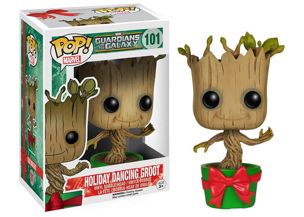 Funko Pop! Guardians of the Galaxy - Holiday Dancing Groot Pop! Vinyl Figure #101