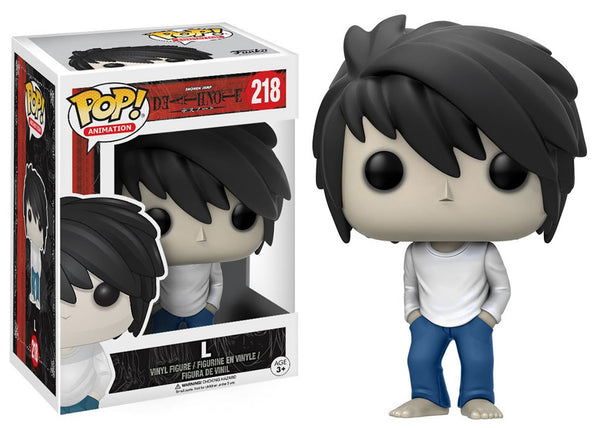 Funko Pop! Death Note - L Pop! Vinyl Figure #218