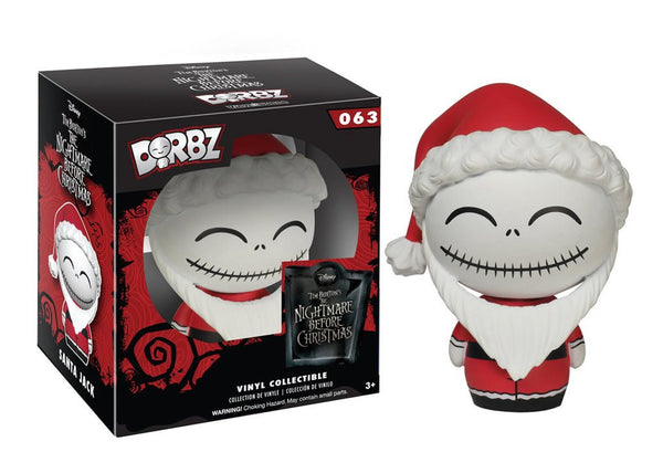Funko Nightmare Before Christmas - Santa Jack Dorbz Vinyl Figure