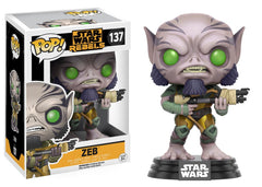 Funko Star Wars Rebels - Zeb Pop! Vinyl Figure