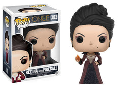 Once Upon A Time - Regina with Fireball Pop! Vinyl