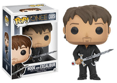 Once Upon A Time - Hook with Excalibur Pop! Vinyl