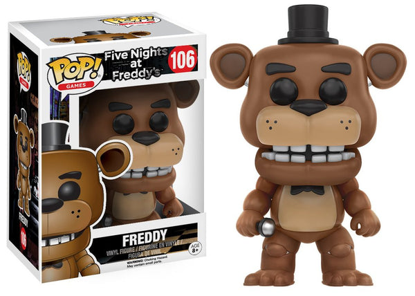 11029 - Funko Pop Five Nights at Freddys - Freddy Pop! Vinyl Figure