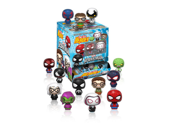 Marvel Spiderman Pint Sized Heroes Mystery Mini Blind Box Vinyl Figures