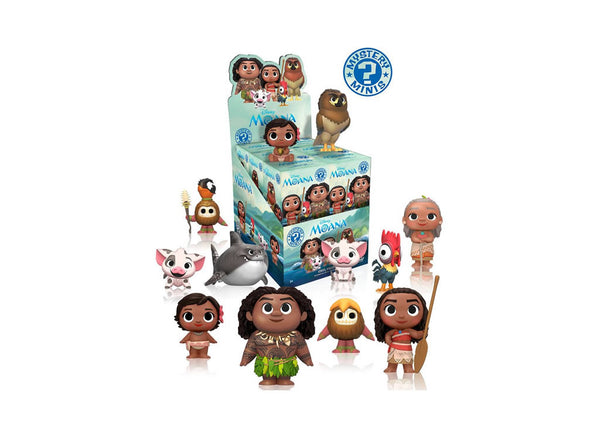 Disney Moana Series 1 Mystery Mini Blind Box Vinyl Figures