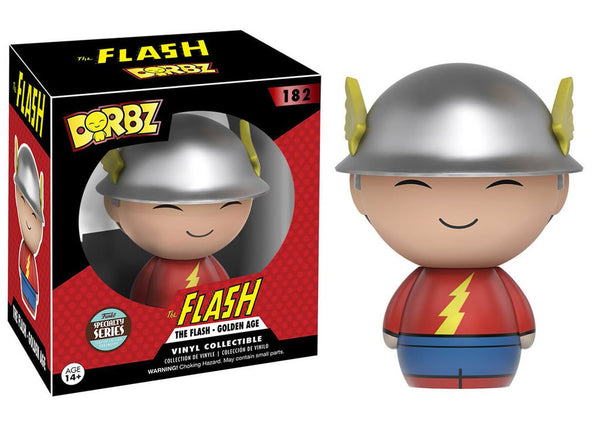 DC Universe - Golden Age Flash Specialty Series Dorbz Vinyl Figure