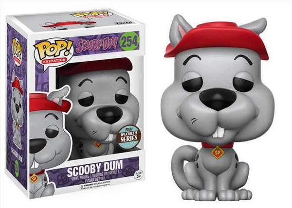 Funko Pop! Scooby Doo - Scooby Dum Pop! Vinyl Figure #254 **SPECIALTY SERIES**
