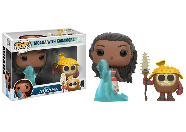 Funko Pop Disney - Moana & Kakamora 2 Pack Pop! Vinyl FIgure