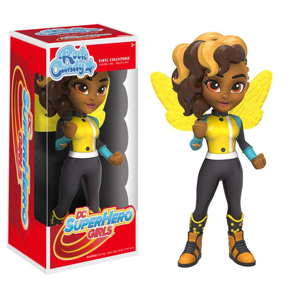 12061 - Funko DC Super Hero Girls - Bumblebee Rock Candy Vinyl Figure