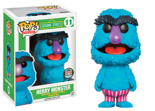 Funko Pop Sesame Street - Herry Monster Specialty Series Pop! Vinyl Figure