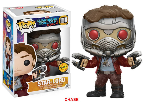 Funko Pop Guardians of the Galaxy 2 - Star Lord Chase Version Pop! Vinyl Figure
