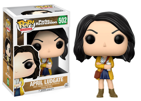 Funko Pop! Parks & Recreation - April Ludgate Pop! Vinyl Figure #502