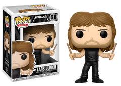 Funko Pop Rocks Metallica - Lars Ulrich Pop! Vinyl Figure #58