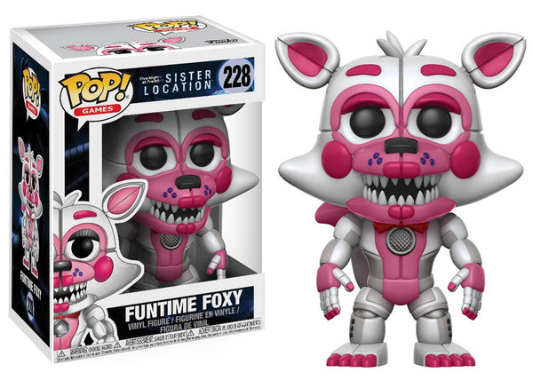 14062 - Funko Pop! Sister Location - Funtime Foxy Pop! Vinyl