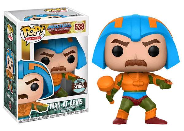 Funko Pop! Masters of the Universe - Man at Arms Pop! Vinyl Figure #538 **SPECIALTY SERIES**