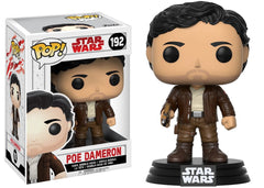 Funko Star Wars The Last Jedi - Poe Dameron Pop! Vinyl Figure #192