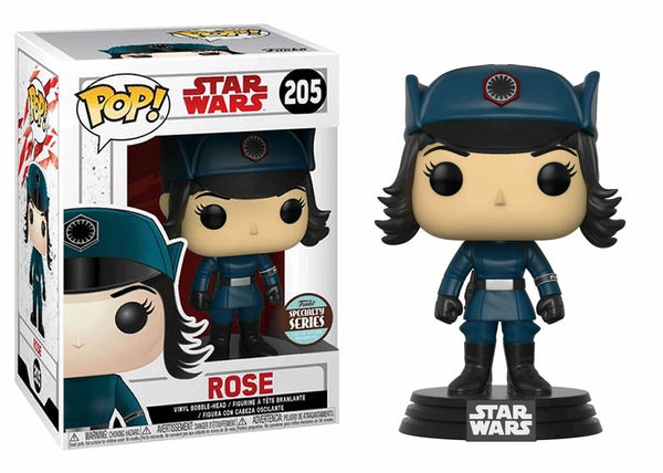 Funko Pop! Star Wars The Last Jedi - Rose Pop! Vinyl Figure #205 **SPECIALTY SERIES**
