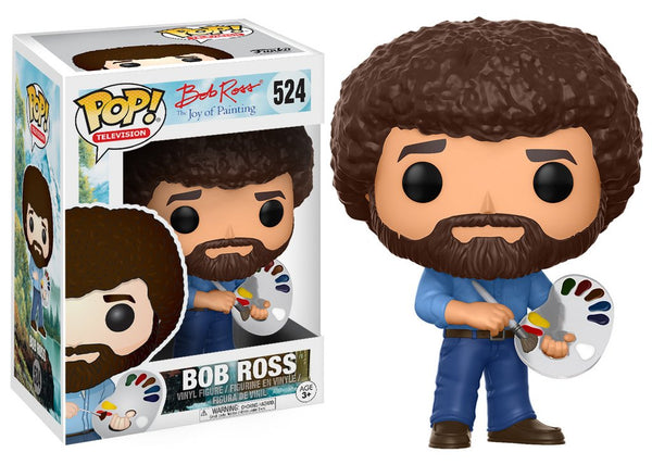 Funko Pop! The The Joy of Painting - Bob Ross Pop! Vinyl Figure #302