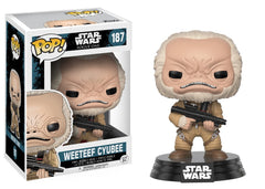 Funko Star Wars Rogue One - Weeteef Cyubee Pop! Vinyl Figure #187