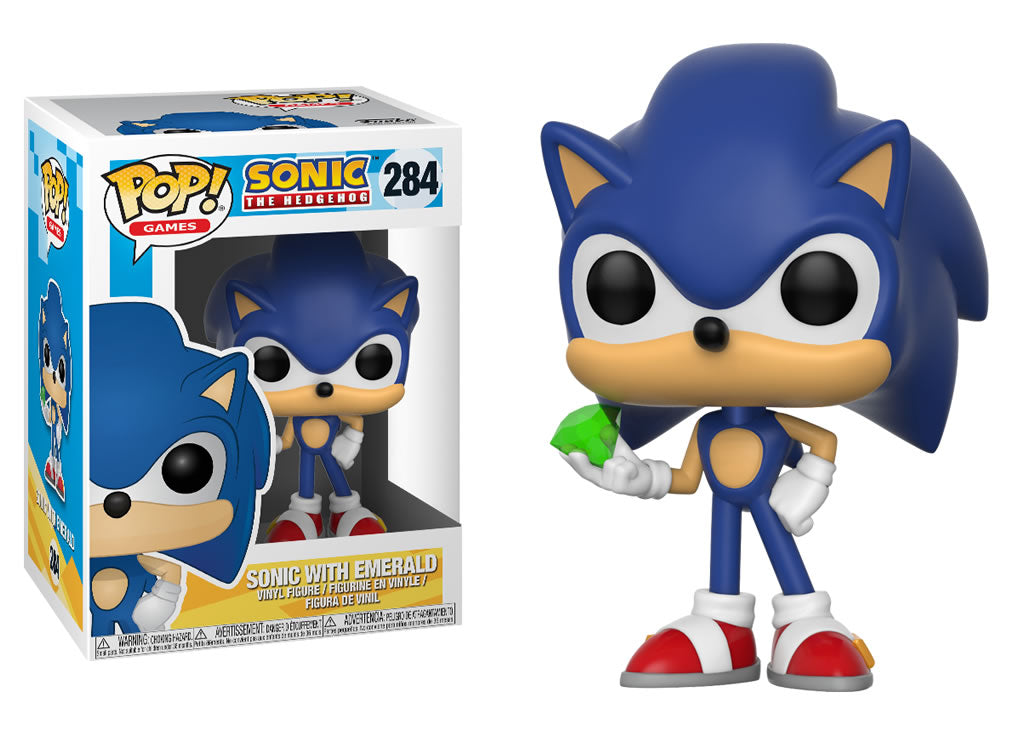 20147 Funko Pop Sonic The Hedgehog Sonic With Emerald Snapcracklepops Com