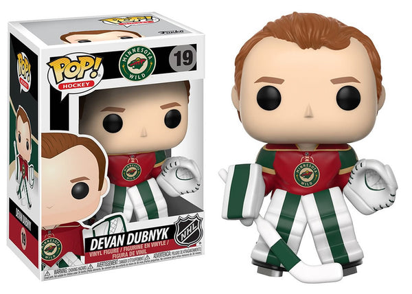 21355 - Funko Pop! NHL Wave 2 - Devan Dubnyk (Minnesota Wild) Pop! Vinyl