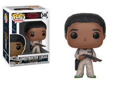 Funko Pop Stranger Things - Ghostbusters Lucas Pop! Vinyl Figure #548