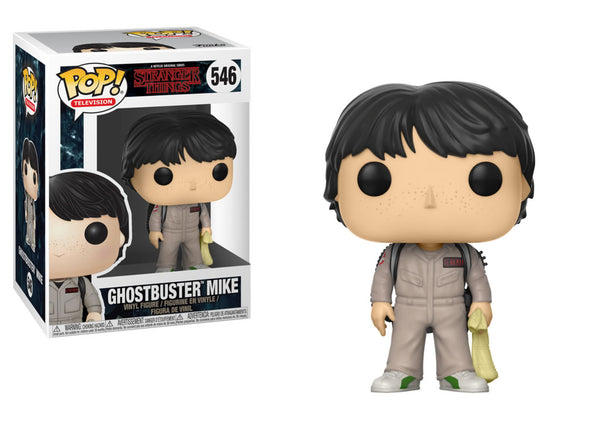 Funko Pop Stranger Things - Ghostbusters Mike Pop! Vinyl Figure #546