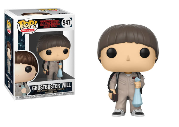 Funko Pop Stranger Things - Ghostbusters Will Pop! Vinyl Figure #547