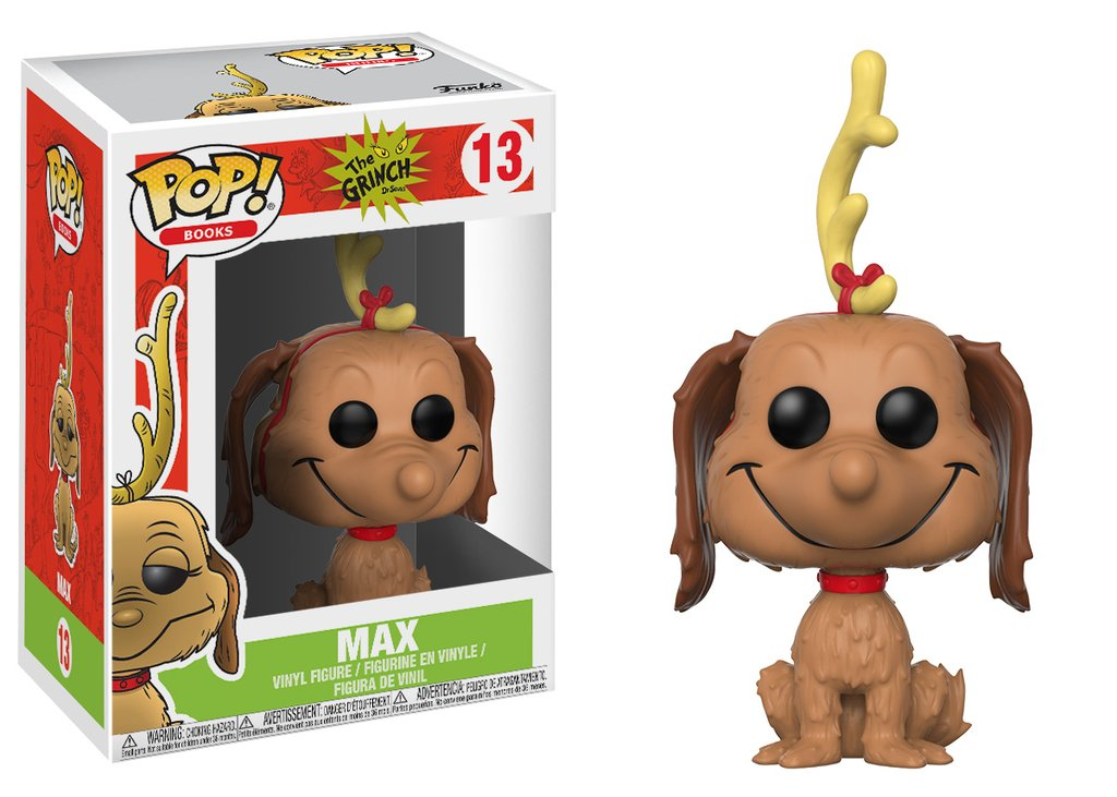 Grinch Stole Christmas Dog.Funko Pop How The Grinch Stole Christmas Max The Dog Pop Vinyl Figure 13