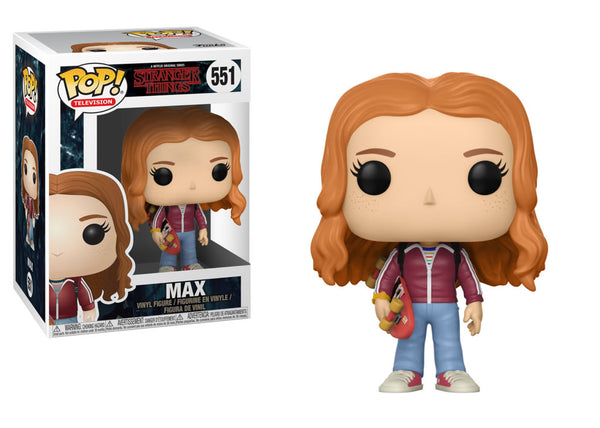 Funko Pop Stranger Things - Max with Skateboard Pop! Vinyl Figure #551