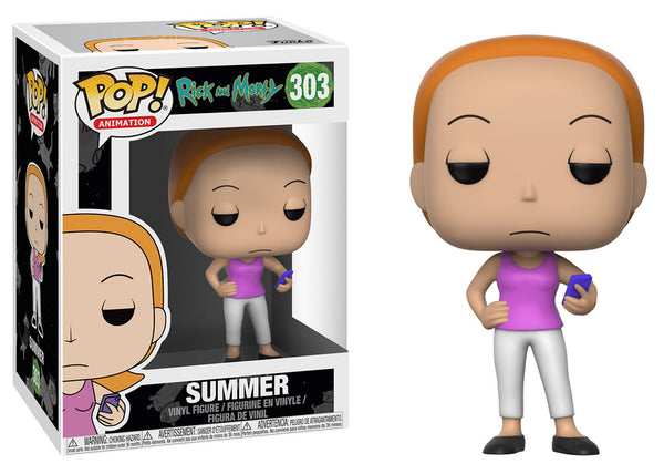 22963 - Funko Pop! Rick and Morty - Summer Pop! Vinyl