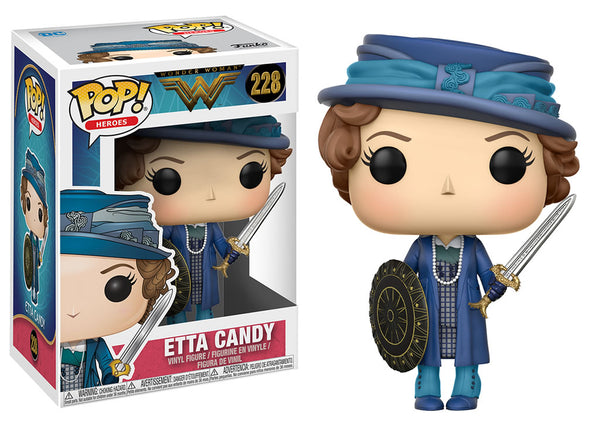 24972 - Funko Pop! Wonder Woman - Etta with Sword and Shield Pop! Vinyl