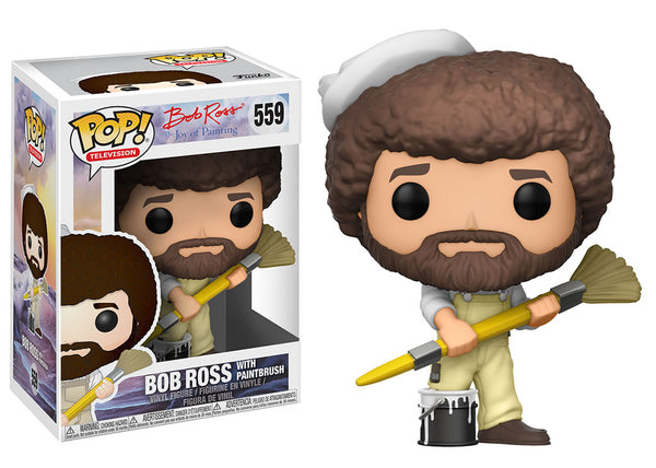 25702 - Funko Pop! The The Joy of Painting - Bob Ross in Overalls Pop! Vinyl