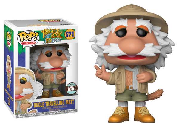 25985 - Funko Pop! Fraggle Rock - Traveling Matt SPECIALTY Pop! Vinyl