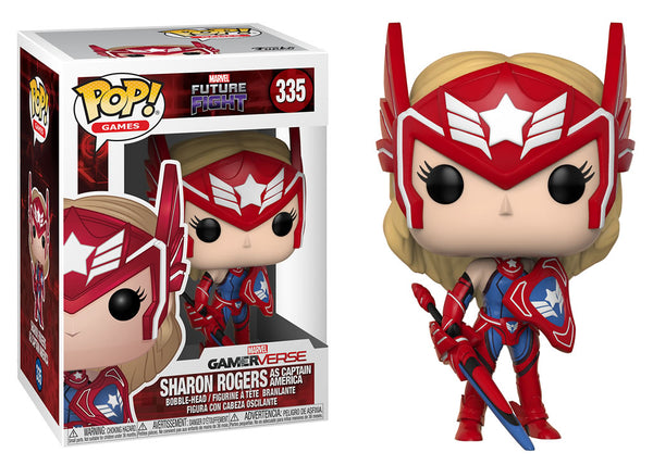 26853 - Funko Pop! Marvel Future Fight - Sharon Rogers Pop! Vinyl